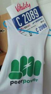 Peer Power Branded Running Vest