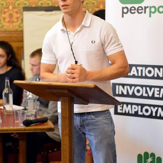 Peer Power Speaker At House Of Lords